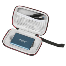 Best Price Portable EVA Hard Carrying Case for Samsung Mobile HDD SDD T3 T5 Protective Travel Storage Bag