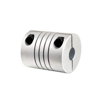 1pcs CNC Motor Jaw Shaft Coupler 5mm To 12mm Flexible Coupling OD 25x30mm 4/ 5/6/6.35/8/9.5/10/12mm cnc motor shaft coupler 6 35mm to 8mm flexible coupling 6 35x8mm