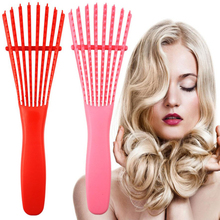 Plastic Hair Brush Scalp Massage
