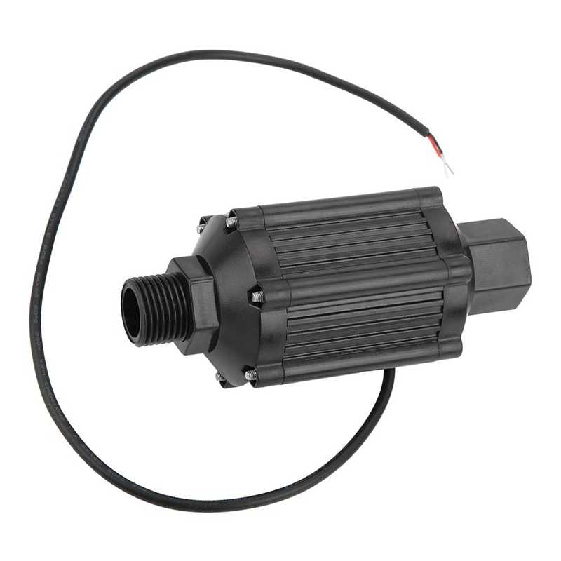12V 50W High Pressure Single Suction Water Pipeline Pump for Household industry 1in Caliber Pipeline Pump