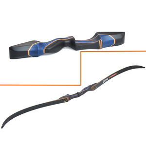Image 5 - 1Set 56inch 20 55lbs Archery Recurve Bow Takedown American Hunting Bow Glassfiber Laminate Limbs RH Shooting Hunting Accessories