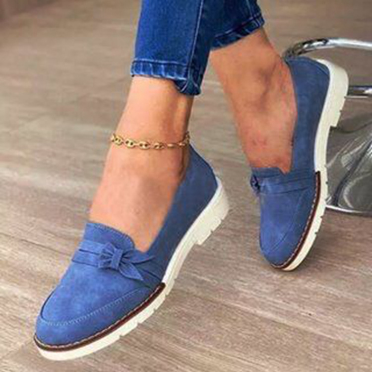 Women Moccasins Women's Flats Suede Artificial Leather Shoes Woman New Spring Autumn Lady Loafers Slip On Female Flat Shoes