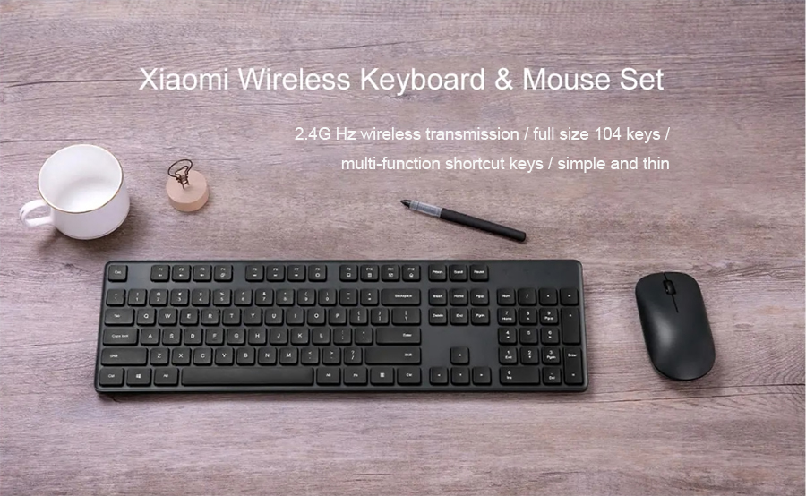 Xiaomi Wireless Keyboard & Mouse Combo Set 6