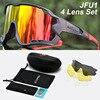Acexpnm polarizado mountain bike ciclismo óculos de ciclismo esportes ao ar livre óculos uv400 4 lente ciclismo óculos de sol das mulheres dos homens 33