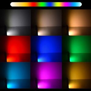 Image 3 - 50 beads Mini RGB Led Video Light On Camera Light built in Battery for Nikon Canon Sony DSLR Smartphone Vlog Fill Light