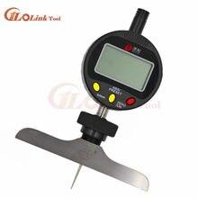 0-12,7mm esfera digital medidor de profundidad con harden de la medición de la esfera Indicadores Indicador de profundidad instrumento de medición