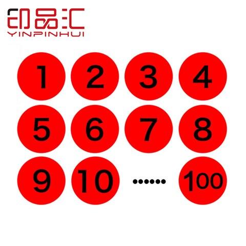20 20mm 1 500 numero de copias adesivos adesivo etiqueta digital pontos diy caso etiqueta