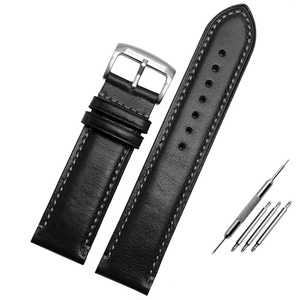 Image 5 - For Substitute Citizen AT8020 JY8078 wristband genuine leather strap 23mm blue Watch Band with folding buckle bracelet