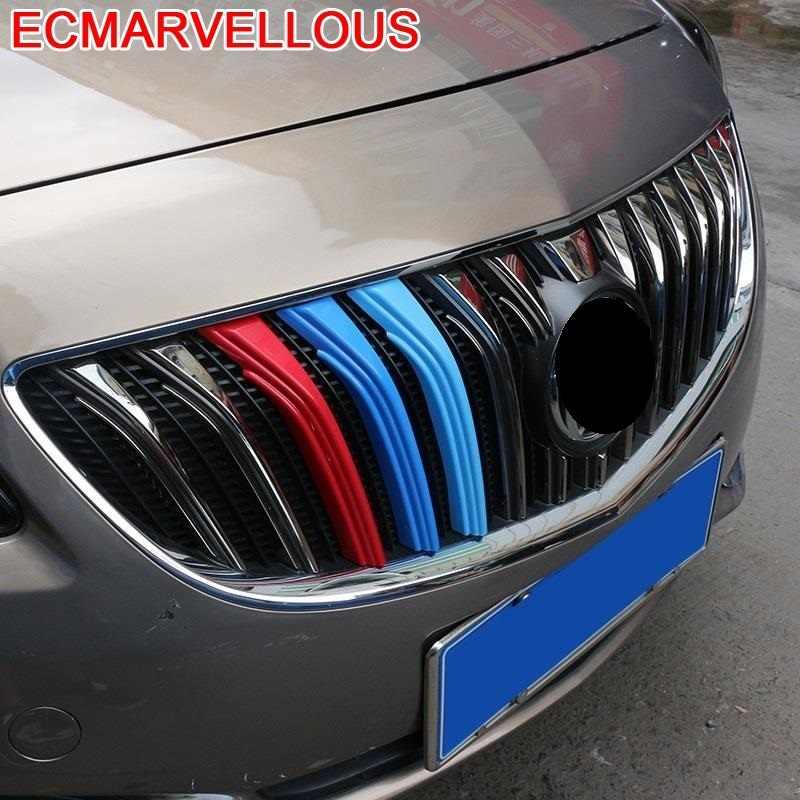 Auto Grille Automobile Modificato Decorativo Cromo Car Styling Accessori Brillante Paillettes Coperture 14 15 16 PER Buick Excelle GT