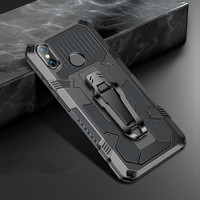 Stoßfest Rüstung Telefon Fall Für Xiaomi Redmi Hinweis 7A 6A 5 7 8 5A 6 8A Pro Mode Robuste Aluminium magnetische Metall Kick Abdeckung