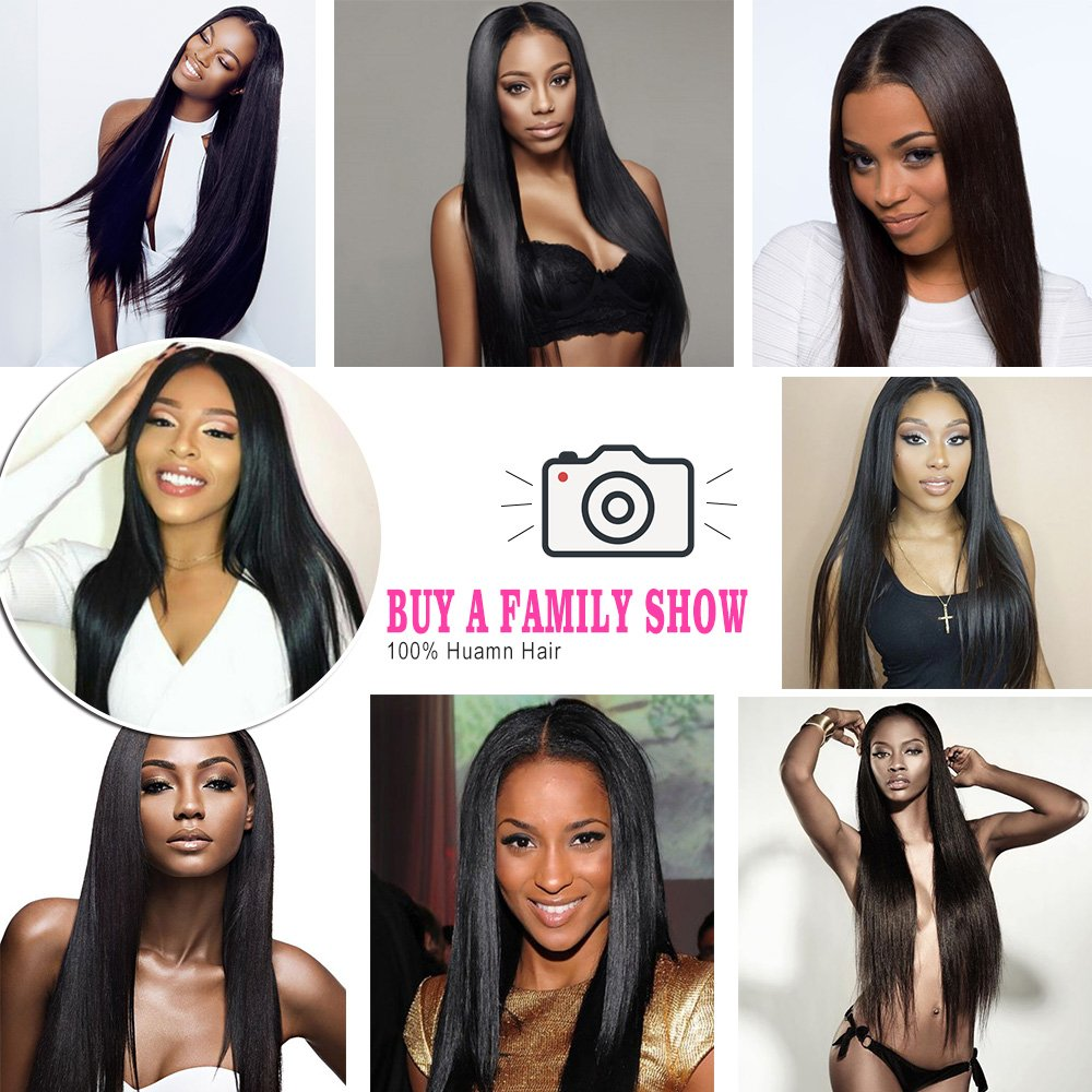 Luvin 28 30 40 Inch  Bone Straight  Bundles Natural Deals Products Raw Virgin Double Drawn Wholesale 5