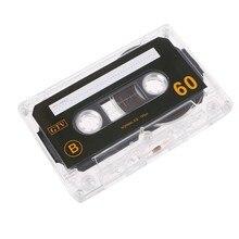 Cassette vierge Standard vide 60 Minutes d'enregistrement Audio pour lecteur de musique vocale B85B