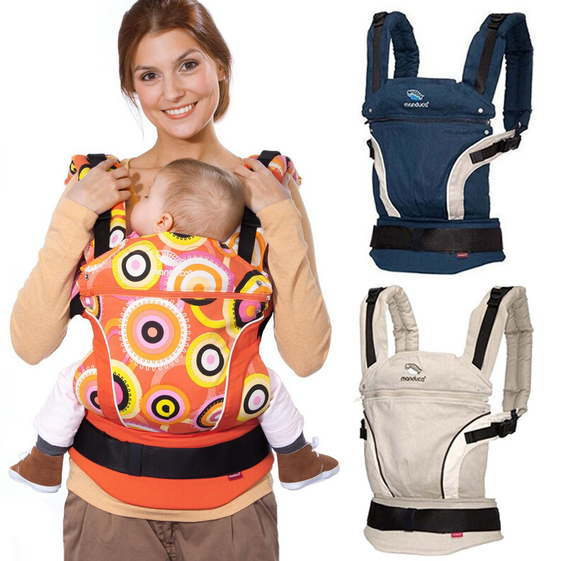 Ergonomic  Manduca Baby Carrier Backpacks 3-36 Months Portable Baby Sling Wrap Cotton Infant Newborn Baby Carrying Belt