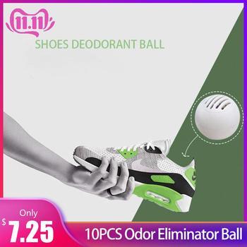 10 sztuk eliminator zapachu piłka dla trampki skórzane buty szafka na buty dezodorant usuwania zapachu #4W tanie i dobre opinie Bezzapachowa Shoes Deodorant Ball odor eliminator for shoes shoe odor eliminator shoe deodorant balls
