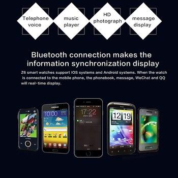 Montre Apple Pour Hommes | 696 Z6 Montre Intelligente Hommes Pour Android Téléphone Apple Montre Support 2G Sim TF Carte 2.0MP Caméra Bluetooth Smartwatch Femmes 230mAh