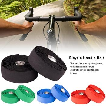цена на Bicycle Handlebar Tape Cycling Handle Wrap Bike Grip Bar Tape Bike Handlebars Belt Anti-slip Soft Sweat Absorption Steering Tape