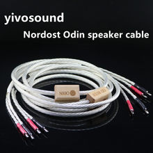 HIFI Nordost Odin audiophile silver wire speaker cable banana Yplug audio Horn connection