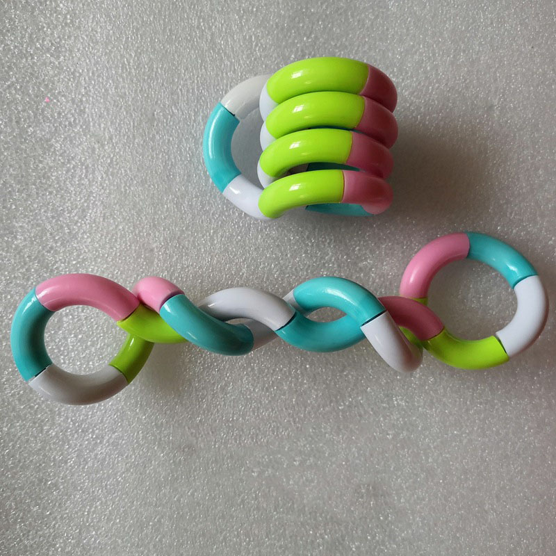 Trick-Rope Fidget-Toy Twisted-Ring Stress Relief Tangle Creative Kid DIY Magic Xmas-Toy img3