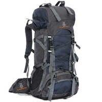 60L Nylon/Oxford Wasserdichte Trocken Tasche Im Freien Hohe Qualität Reise Rucksack Männer Frauen Camping Bergsteigen Wandern Rucksäcke