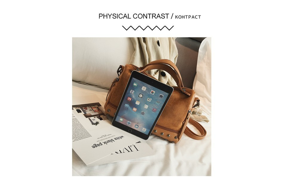 Hb259aaf4e7b9471dab0696261f2d49eb3 - Fashion Women Top-handle Bags with s Large High Quality Leather Female Shoulder Bag Vintage Motorcycle Tote Bags Sac
