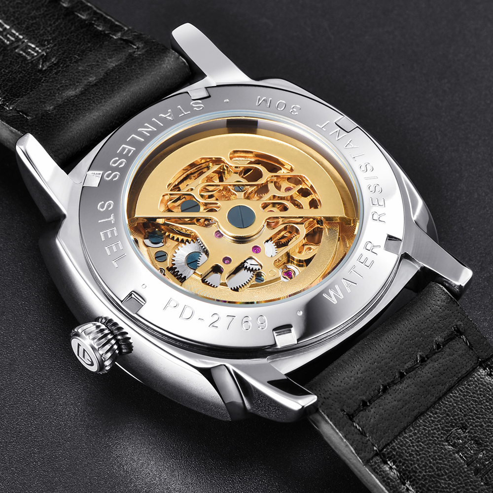 high quality PAGANI DESIGN Luxury Tourbillon Mechanical Watches Luminous Genuine Leather Fashion Casual Skeleton Automatic Watch free dropshipping (24)