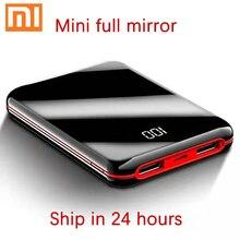 Xiaomi, полноэкранный мини внешний аккумулятор 30000 мА/ч, внешний аккумулятор, USB, портативное зарядное устройство для телефона, для IPhone, повербанк
