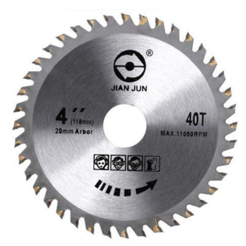 1pcs 40 Tooth Grinder Round Saw Blade Disc Rotary Wood Cutting Tool Woodworking 2019 New Hot