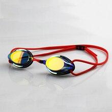 Профессиональные очки для соревнований, плавательные очки, покрытие, анти-туман, водонепроницаемые очки для плавания, защита от ультрафиолета, очки для плавания для мужчин и женщин