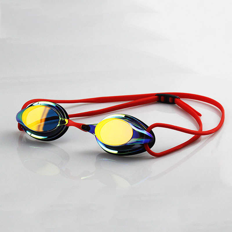 Professional Competition Swimming Goggles Plating Anti-fog Swimming Glasses Waterproof UV Protection Swim Glasses for Men Women