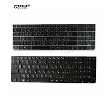 GZEELE New Russian laptop Keyboard for HP PROBOOK 4530 4530S 4730 4730S 4535S 4735s RU with Silver Frame Replace notebook