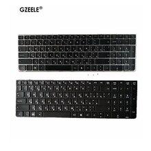 GZEELE clavier russe pour ordinateur portable HP PROBOOK, nouveau modèle 4530, 4530S, 4730S, 4730S, 4535s, 4735S RU, avec cadre argenté de remplacement