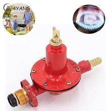 0-30PSI Adjustable High Pressure Propane Regulator LP Gas Outdoor BBQ Burner Fryer Valve Gas Heater Parts