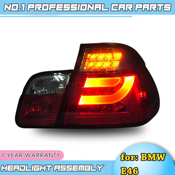 car accessories Taillights-for BMW E46 rear Lights 2001-2004 led TailLight for E46 Rear Lamp DRL+Brake+Park+Signal lights