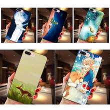For Apple iPhone X XS Max XR 4 4S 5 5S SE 6 6S 7 8 Plus TPU Custom Design Little Prince Le Petit Prince(China)