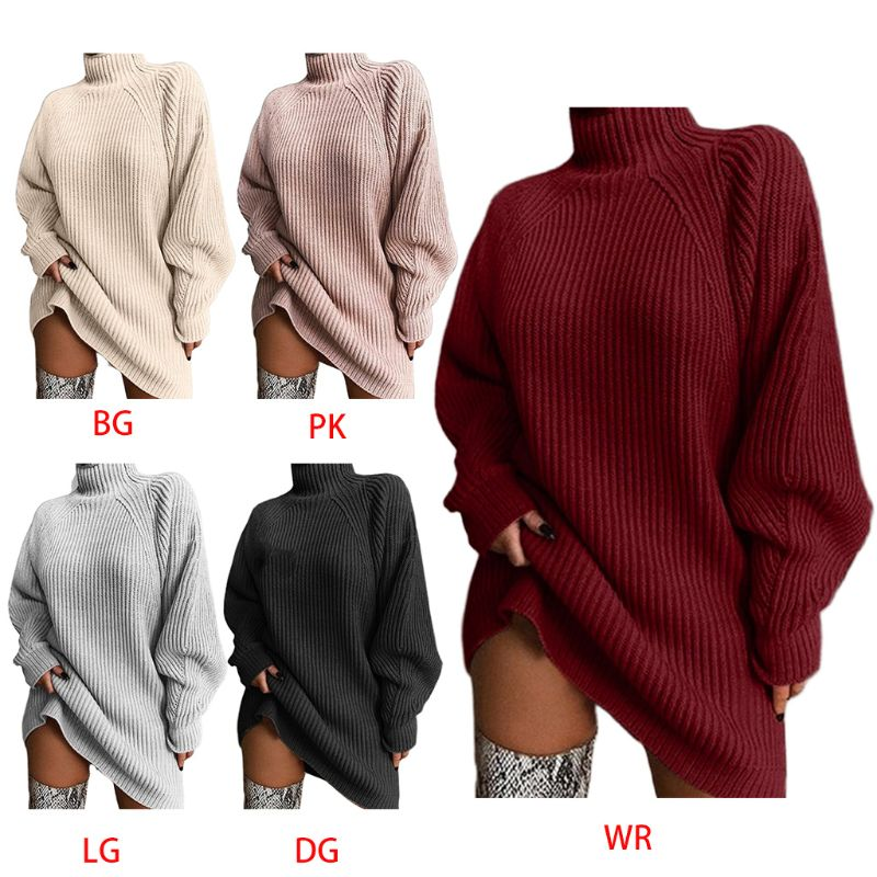 BLady Women Polyester Cotton Wool Ribbed Full Sleeve O Neck Slim Fit Sweater