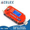 DP3A Digital display USB einstellbare power module DC 1-30V 15W QC 2,0 3,0 FCP Schnell ladung labor netzteil regulador