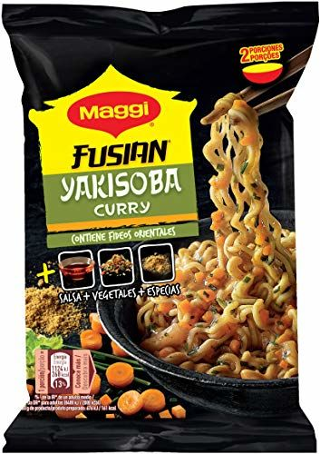 Maggi Yakisoba Curry, Fideos - 120 Gr