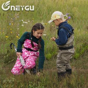 Image 5 - NEYGU kids Waterproof wading pants with Winter Boots, Breathable Kids huting Waders for Fishing and Water Playing