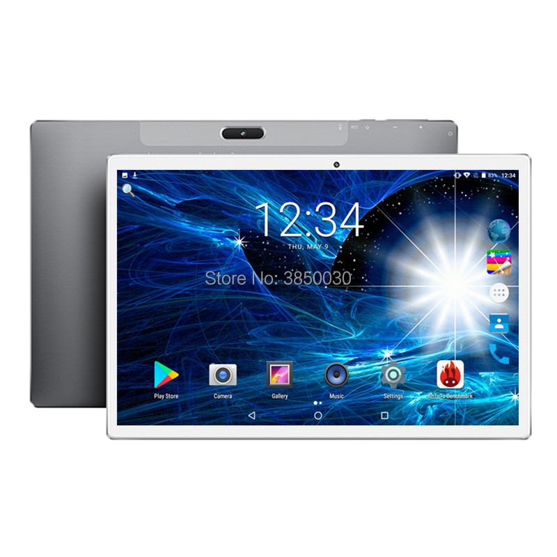 2020 Fast Shipping Android 8.0 Tablet PC Tab Pad 10 Inch IPS 10 Core 4G+128GB ROM Dual SIM Card LTD Phone Call 10.1