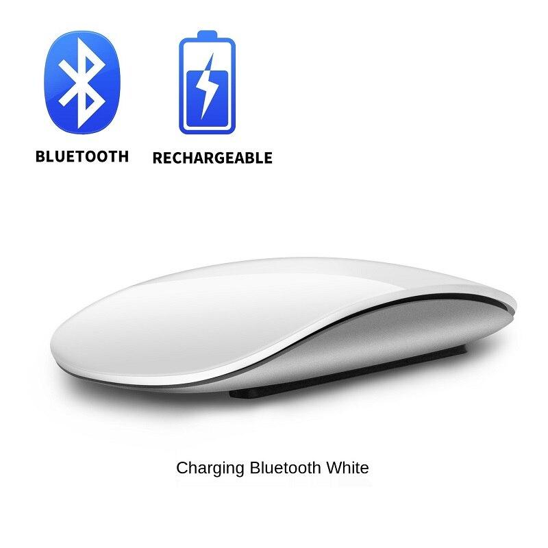 Bluetooth 5,0 Беспроводная дуговая сенсорная Волшебная мышь, эргономичная ультратонкая перезаряжаемая оптическая мышь для мышей Apple Macbook