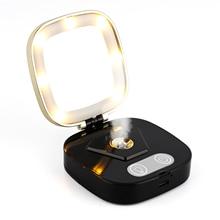 3 Mode LED Light Makeup Mirror Nano Hydrating Face Moisturzing Cosmetic Lamp Mirror Protable Facial Humidifier Sprayer Device