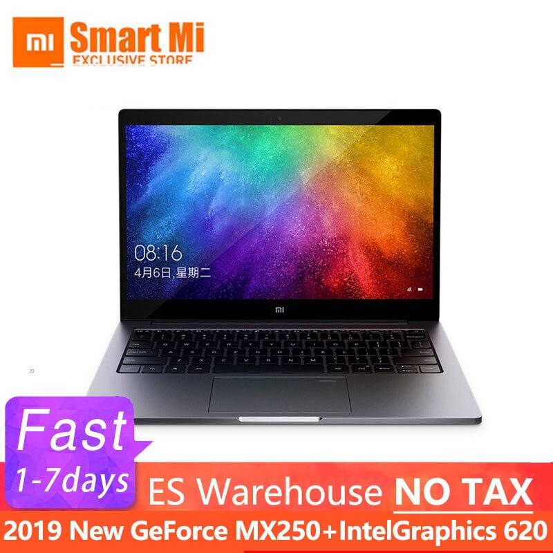 Xiao mi portátil portátil portátil ar 13.3 Polegada inglês win10 mx250 duplo dedicado cartão intel i5/i7 8 gb ram 256 gb ssd com impressão digital - 2