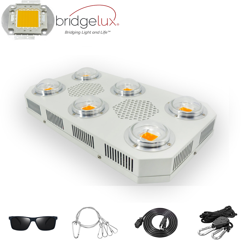 Bridgelux COB 1800W Timer LED Grow Light For Indoor Medicinal Plants Full Spectrum Using Optical Lens High Lumen PAR Grow Tent