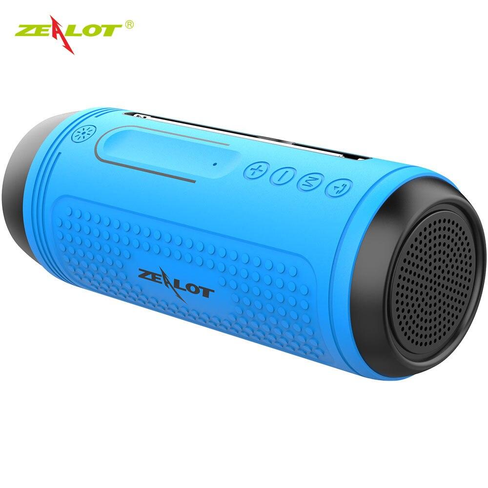 Nouveau-zélande A1 Portable Bluetooth haut-parleur Radio étanche sans fil vélo haut-parleur + lampe de poche Support TF,FM,AUX, clé USB
