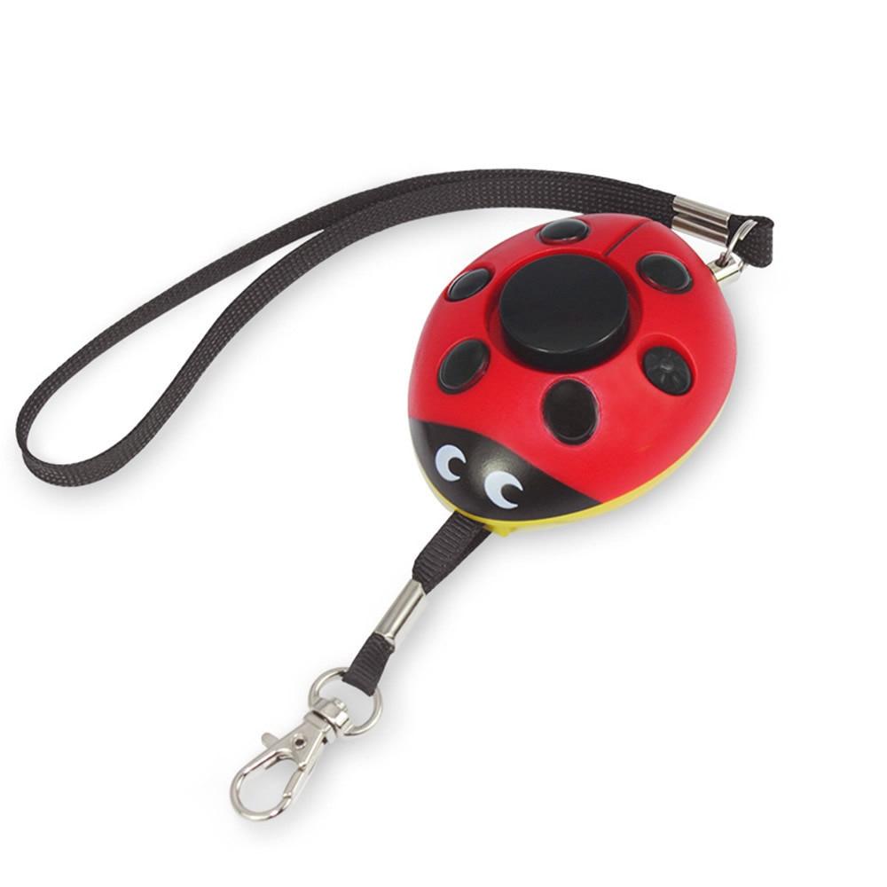 Self Defense Alarm 130dB Beetle Girl Women Security Protect Alert Personal Safety Alarms Scream Loud Keychain Emergency Alarm