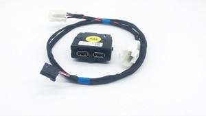 Image 1 - Hinten Sitz USB Buchse Armerst USB mit Verdrahtung für VW Tiguan MK2 Teramont Atlas für Skoda MQB Octavia Superb Kodiaq 5QD 035 726 L