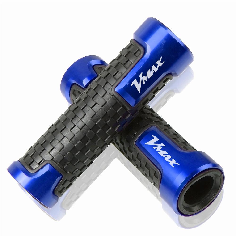High Quality 7/8'22MMCNC Aluminum & Plastic Hand 22mm Motorcycle Handlebar Grips Handle Bar Motorbike For YAMAHA VMAX Vmax V-MAX