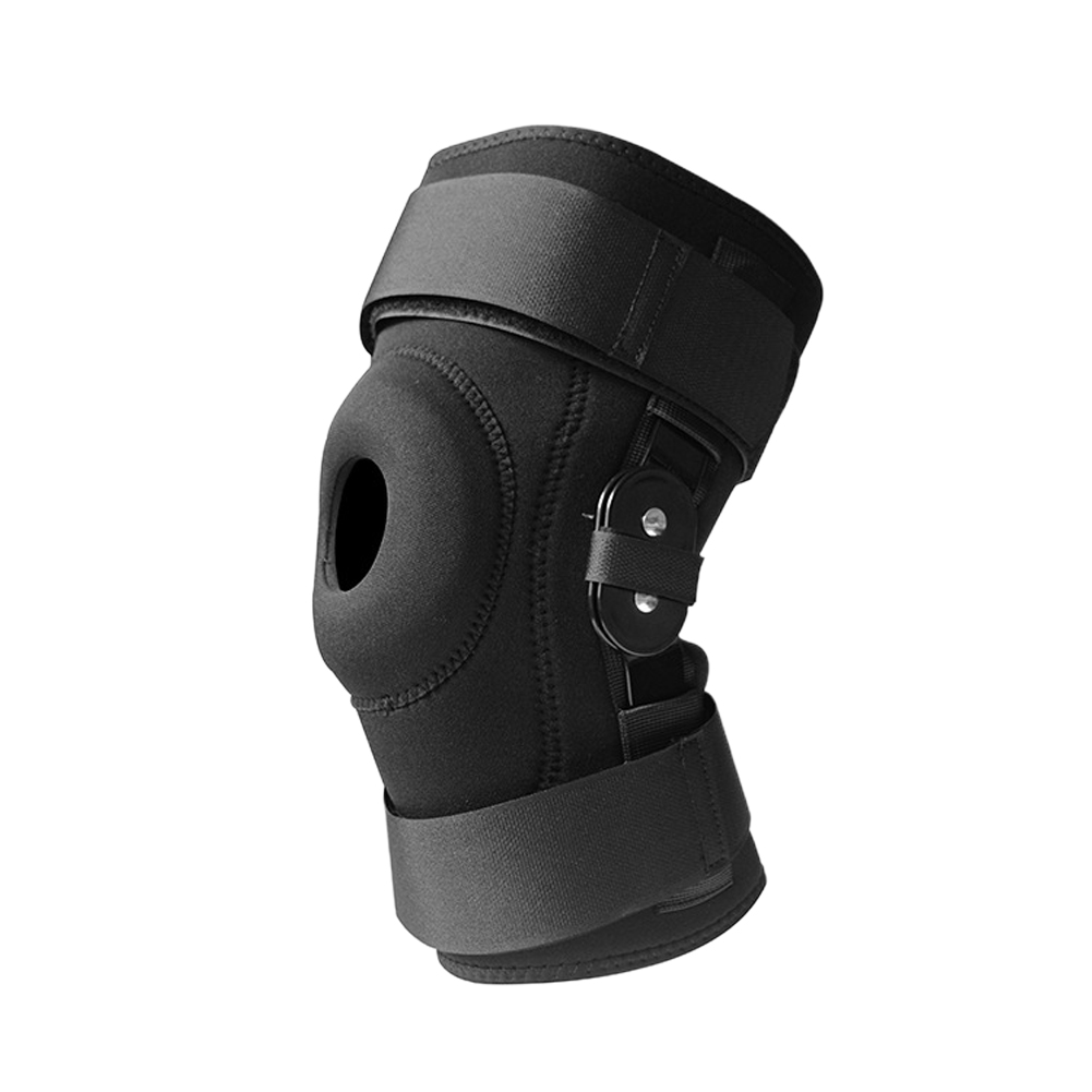 Cycling Sports Brace Magic Sticker EVA Meniscus Protective Badminton Shockproof Training Adjustable Strap Knee Pad Bandage