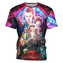 Summer Dropship 3D T-Shirt  Stranger Things 3 Tee Shirt Thing tshirt Eleven Top Casual streetwear tee shirt home