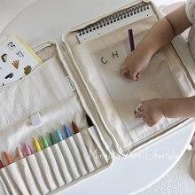 Baby Brush Storage Bag Crayon Bag Crayon Toy Storage Organiz